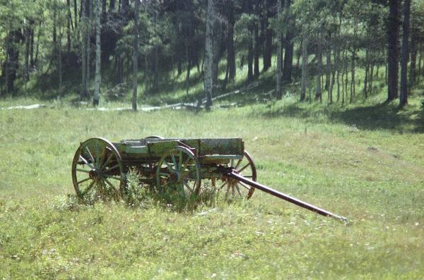 Abandoned Wagon, Black Hills, South Dakota