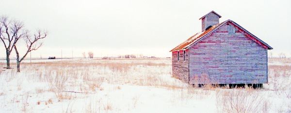 Abandoned Schoolhouse, Winter