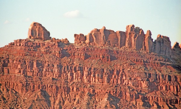 Eroded Red Mesa