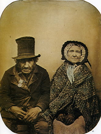 Anonymous ambrotype A Veteran with his Wife