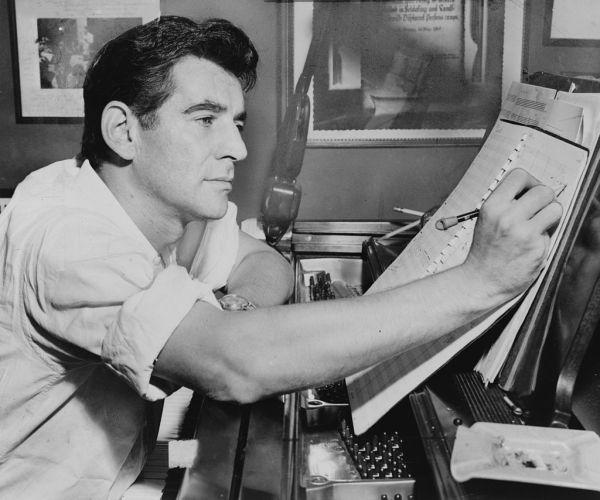 Leonard Bernstein 1955